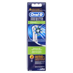 Repuestos de Cepillo Dental Eléctrico Oral-B Cross Action con 2 Pzs. - Sanborns