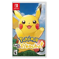 Pokémon: Let's Go Pikachu! Nintendo Switch - Sanborns