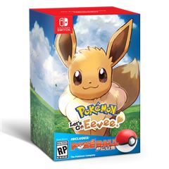NSW P Lets Go Eevee+ Pokeball - Sanborns