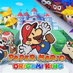 Paper Mario The Origami King Nintendo Switch - Sanborns