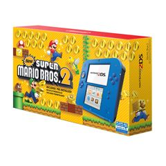 Consola 2DS Electric Blue New SMB2 - Sanborns
