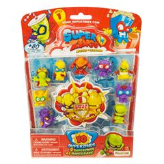 10 Pack Superzings Serie 1 Bandai - Sanborns