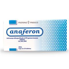 Anaferon Adulto 20 Tabletas - Sanborns
