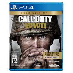 PS4 Call Of Duty WWII Gold - Sanborns
