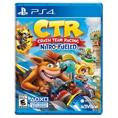 PS4 Crash Team Racing Nitro Fueled - Sanborns