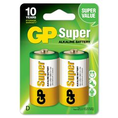 Pila GP Batteries D (2 pilas) - Sanborns
