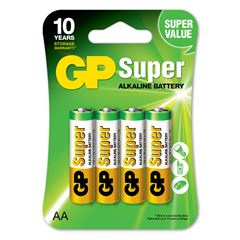 Pila GP Batteries AA (4 pilas) - Sanborns