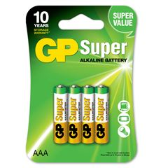Pila GP Batteries AAA (4 pilas) - Sanborns
