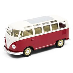 Escala 1:24 Die Cast Volkswagen T1 Window Van - Sanborns