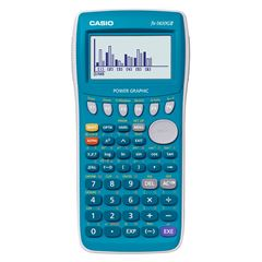 Calculadora graficadora Casio azul - Sanborns