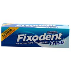 Pasta Dentadura Fixodent Fresh 40 Ml - Sanborns