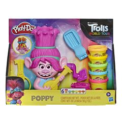 Set de JuegoTrolls World Tour Poppy Play-Doh - Sanborns