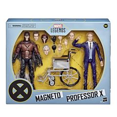 Hasbro Marvel Legends Series X-Men Figuras de Magneto y el Profesor X - Sanborns