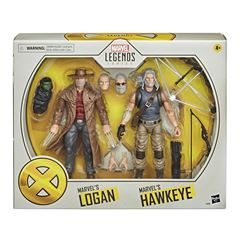 Hasbro Marvel X-Men Series Hawkeye y Logan - Sanborns