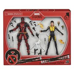 Hasbro Marvel Legends Series - Deadpool y Negasonic Teenage Warhead - Sanborns