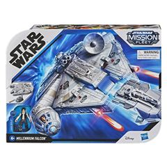 Star Wars Mission Fleet Han Solo Millennium Falcon - Sanborns