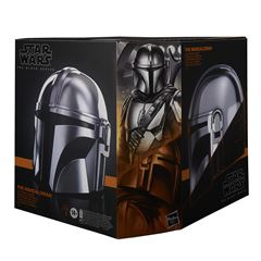 Preventa Star Wars The Black Series The Mandalorian - Casco electrónico - Sanborns