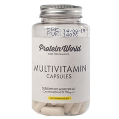Capsulas Multi Vitaminicas Protein World - Sanborns
