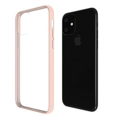 Funda para iPhone 11 Rosa Hybrid Protect Qdos - Sanborns
