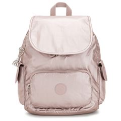 Mochila Kipling City Pack S Color Rosa Metálico - Sanborns