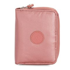 Cartera Mediana Money Love Rosa Metálico Kipling Para Dama - Sanborns