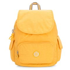 Mochila Kipling  City pack amarillo - Sanborns