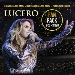 3CD/ 3DVD Lucero- Enamorada Fan Pack - Sanborns