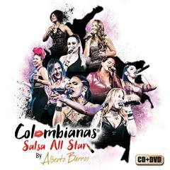 CD+ DVD Alberto Barros- Colombianas Salsa All Star - Sanborns