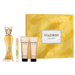 Fragancia Para Dama Paris Hilton Gold Rush 100 ml - Giftset - Sanborns