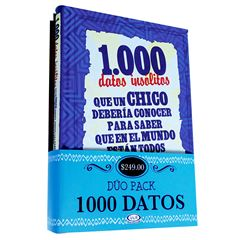 Paquete 1000 datos - Sanborns
