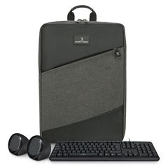 Kit Mochila Slim Block + Bocinas + Teclado Perfect Choice - Sanborns