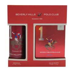Fragancia Para Caballero Beverly Hills Polo Club Mens Gift Set One - Sanborns