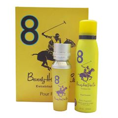 Fragancia Para Dama Beverly Hills Polo Club Womens Gift Set Eight - Sanborns