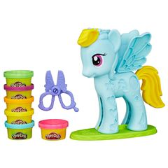 Play Doh  Mlp Rainbow Dash Peinados De Colores - Sanborns