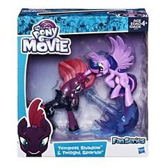 Figura Tempest Shadow y Twilight Sparkle My Little Pony - Sanborns