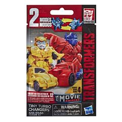 Bling Bag Tiny Turbo Changers Movie Edition Transformers: Bumblebee - Sanborns