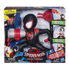 Figura Shock Strike Miles Morales Spider-Man Marvel - Sanborns