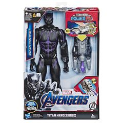 Marvel Avengers: Endgame - Titan Hero Power FX Black Panther - Sanborns