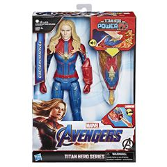 Figura Capitana Mavel Titan Hero Power FX Marvel Avengers: Endgame - Sanborns
