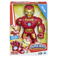 Figura acción Iron Man Mega Mighties Playskool Heroes - Sanborns