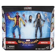 Figuras de acción Spiderman & Marvel's MJ - Sanborns