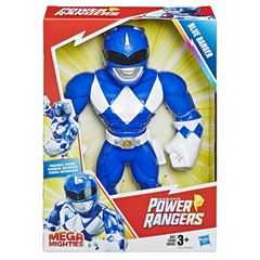 Power Rangers Figura Playskool Heroes Mega Mighty Blue Ranger - Sanborns