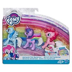 3 Pack Rainbow Tail Surprise My Little Pony - Sanborns