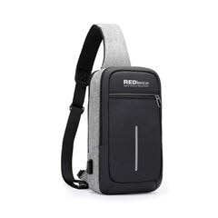 Mochila Cruzada Impermeable Con USB para Notebook o Tablet RedLemon - Sanborns