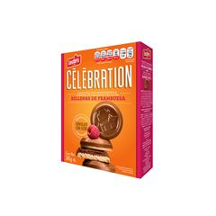 Galletas Rellena de frambuesa con chocolate celebration 240 - Sanborns