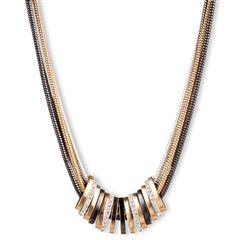 Collar de Acero Tritono tipo  Centrado Nine West - Sanborns