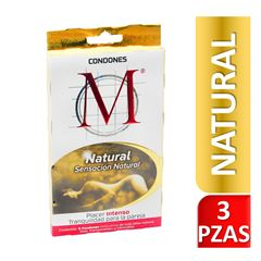Condones M Natural - Sanborns