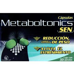 Metabol Tonics Sen 30 Cap - Sanborns