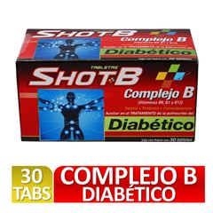 Shot B 30 Diabetico - Sanborns