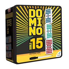 Domino Doble 15 De Colores D585 Novelty - Sanborns